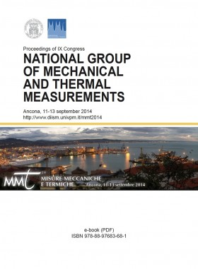 Proceedings of IX Congress. National Group of Mechanical and Thermal Measurement - Universitas Studiorum
