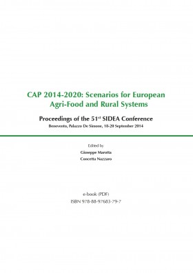 CAP 2014-2020: Scenarios for European Agri-Food and Rural Systems - Universitas Studiorum