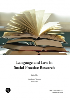Language and Law in Social Practice Research - Universitas Studiorum